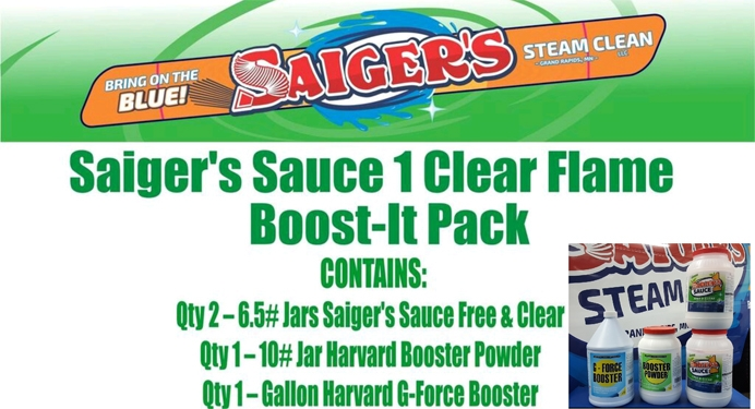Saigers Sauce 1 Clear Flame Boost It Pack Saigers Steam