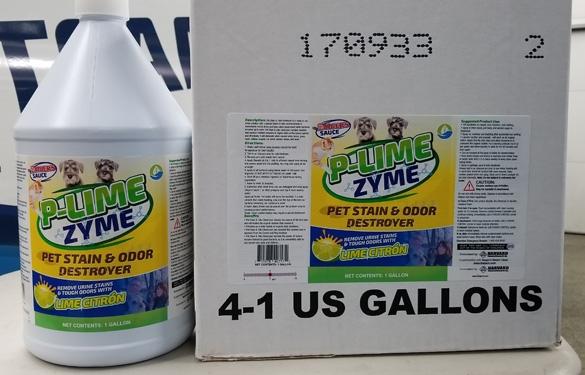 Saigers P Lime Zyme 4 X 1 Gallon Case Saigers Steam